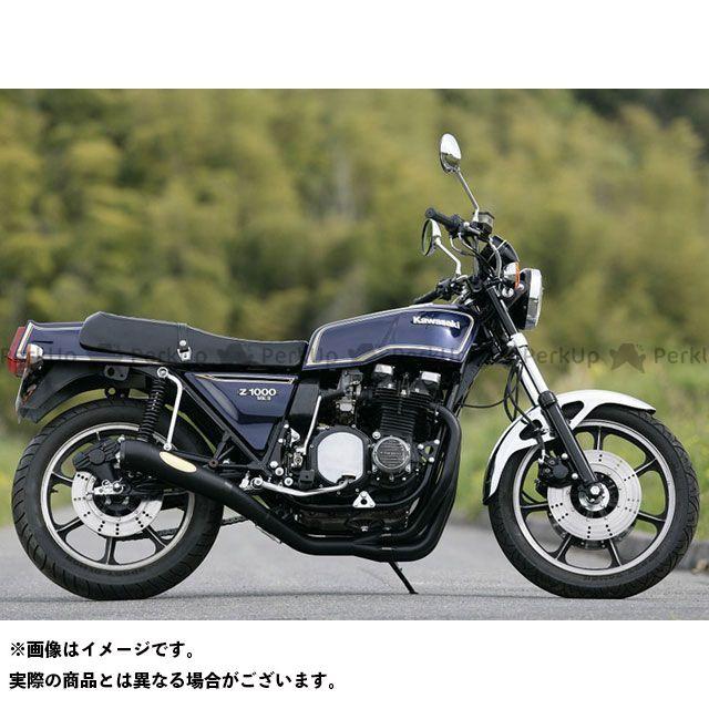 月木レーシング Z1000MK- Z750FX マフラー本体 Z750FX1/Z1000 Mk-II Origin 月光メガホン 国内仕様 エキパイ:スチール ツキギ