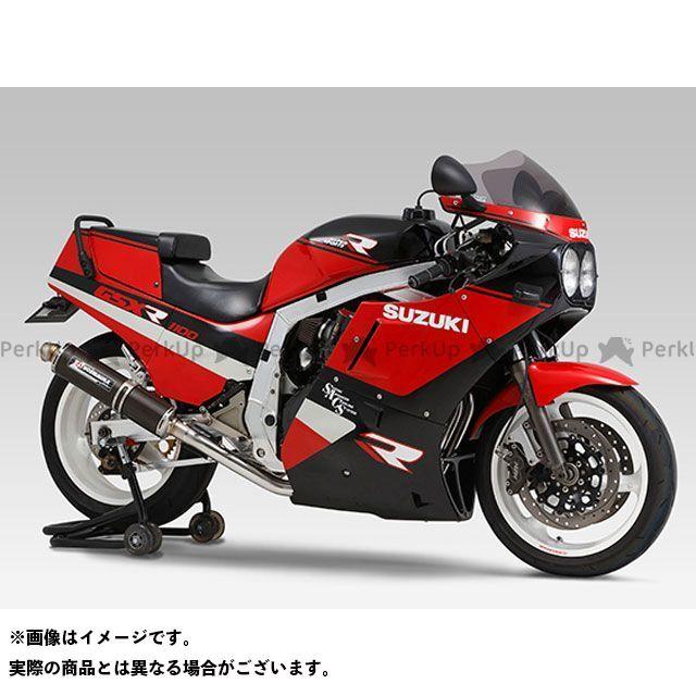 YOSHIMURA GSX-R1100 GSX-R750 マフラー本体 機械曲サイクロン サイレンサー:SC(カーボンカバー) ヨシムラ