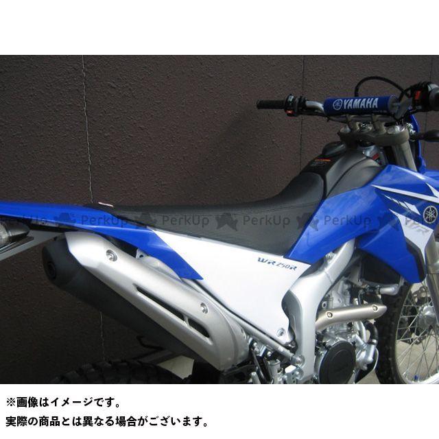 SPIRAL WR250R WR250X シート関連パーツ ハイシート YYAMAHA WR250X WR250R 07-17 カラー:ブルー/ブラック スパイラル