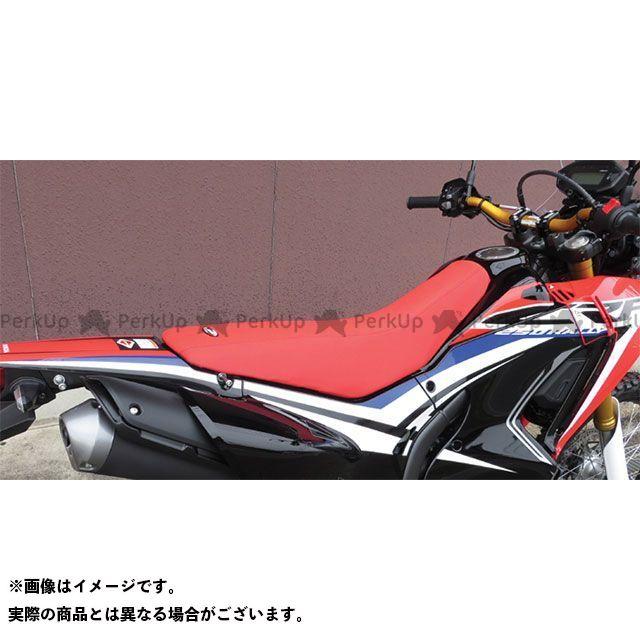 SPIRAL CRF250L CRF250M CRF250ラリー シート関連パーツ ハイシート HONDA CRF250L/CRF250M/CRF250 RALLY 12-17 カラー:レッド スパイラル