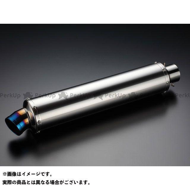 BEAMS 汎用 マフラー本体 汎用サイレンサー φ100×450mm(GPテール) サイレンサー:チタンソリッド 差込径:φ60.5 ビームス