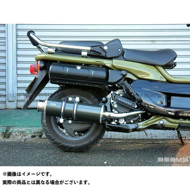 BEAMS PS250 マフラー本体 SS400 マフラー サイレンサー:カーボンII ビームス
