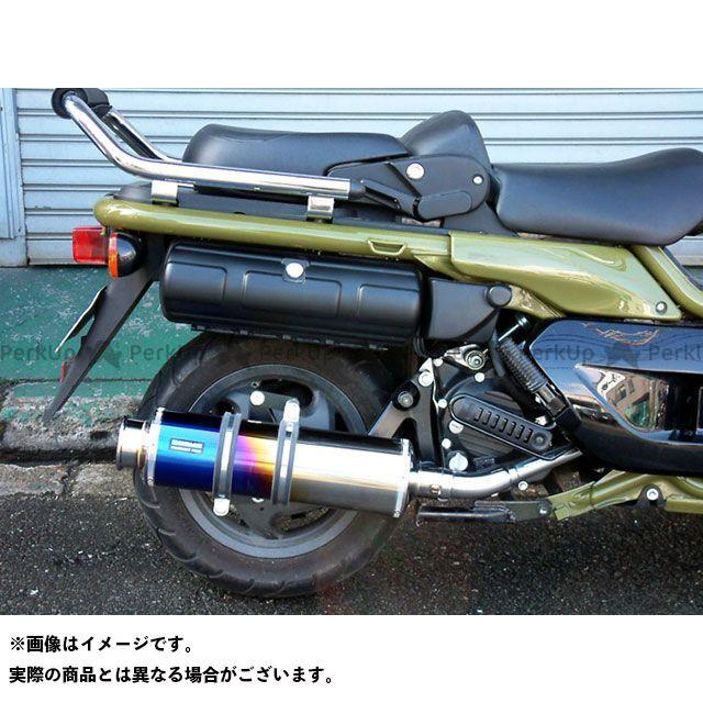 BEAMS PS250 マフラー本体 SS400 マフラー サイレンサー:チタン ビームス