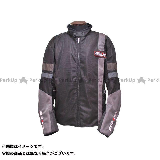モトバイパー ジャケット MV-12 GAL-NE メッシュジャケット カラー:ブラック/シルバー サイズ:L moto-VIPER