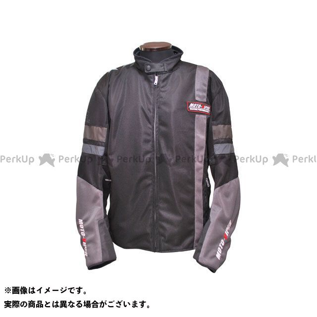 モトバイパー ジャケット MV-12 GAL-NE メッシュジャケット カラー:ブラック/シルバー サイズ:LL moto-VIPER