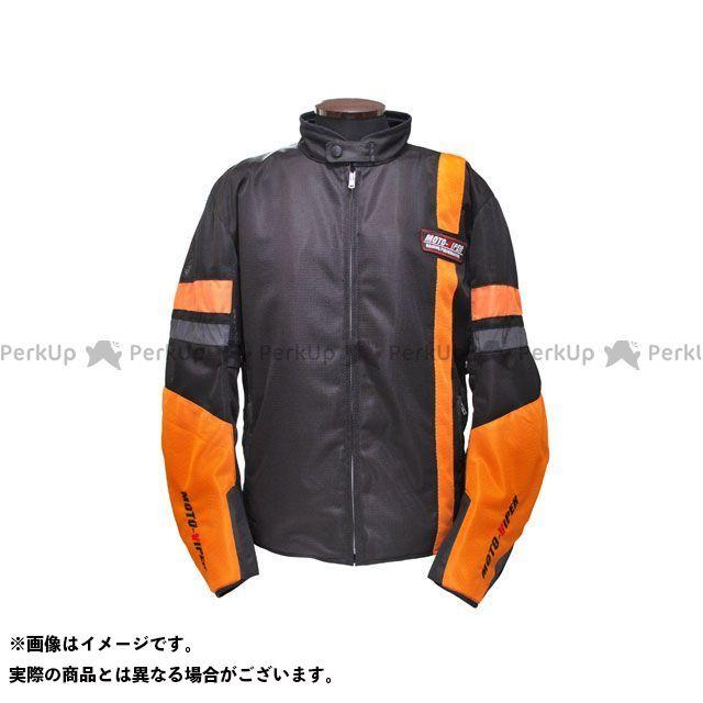 モトバイパー ジャケット MV-12 GAL-NE メッシュジャケット カラー:オレンジ/ブラック サイズ:M moto-VIPER