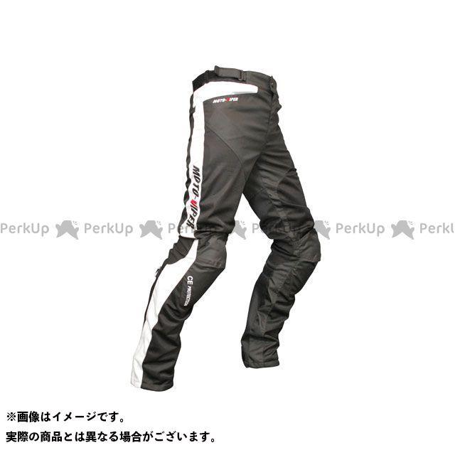 モトバイパー パンツ MV-22 GAL-NE メッシュパンツ カラー:ホワイト/ブラック サイズ:M moto-VIPER