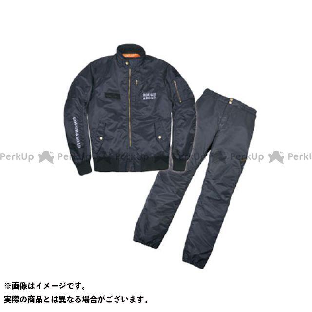 【特価品】ラフアンドロード ジャケット RR7687 MA-1RウインタースーツFP(ブラック) サイズ:L ラフ&ロード