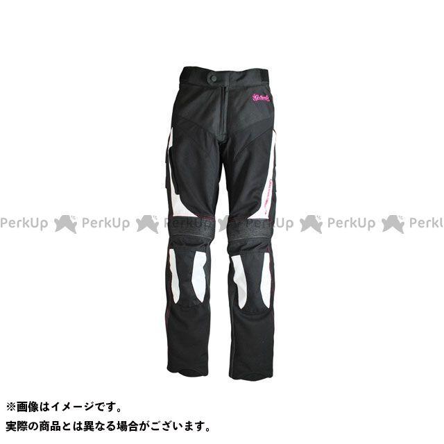 送料無料 seal's シールズ パンツ SLP-226W LADY'S MESH PANTS ホワイト×ブラック レディースS