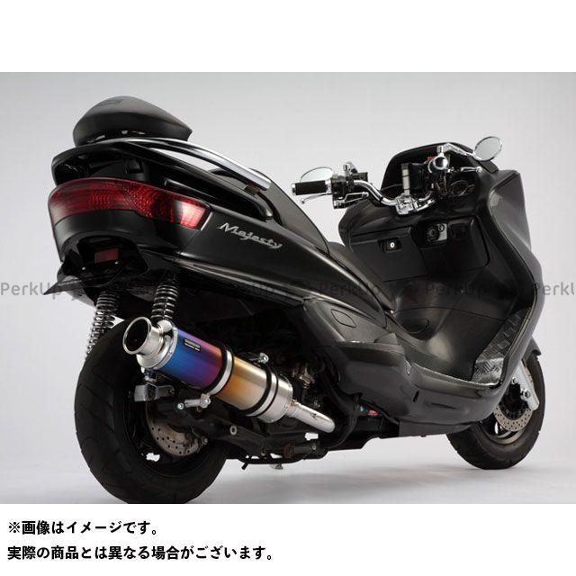 BEAMS マジェスティ マジェスティC マフラー本体 SS400 マフラー サイレンサー:チタン ビームス