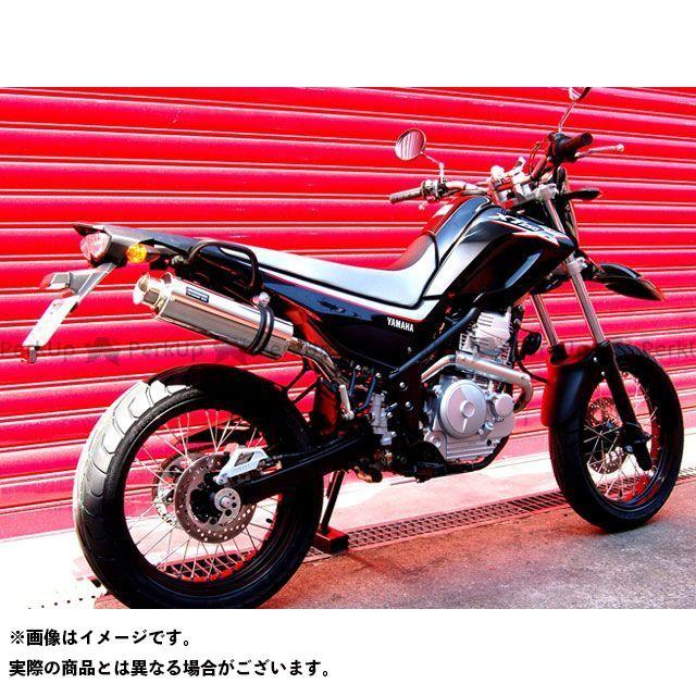 BEAMS XT250X マフラー本体 SS300 アップタイプ フルエキゾーストマフラー サイレンサー:ソニック ビームス