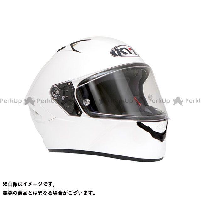 ケーワイティー フルフェイスヘルメット NFR プレーンパールホワイト サイズ:XL KYT