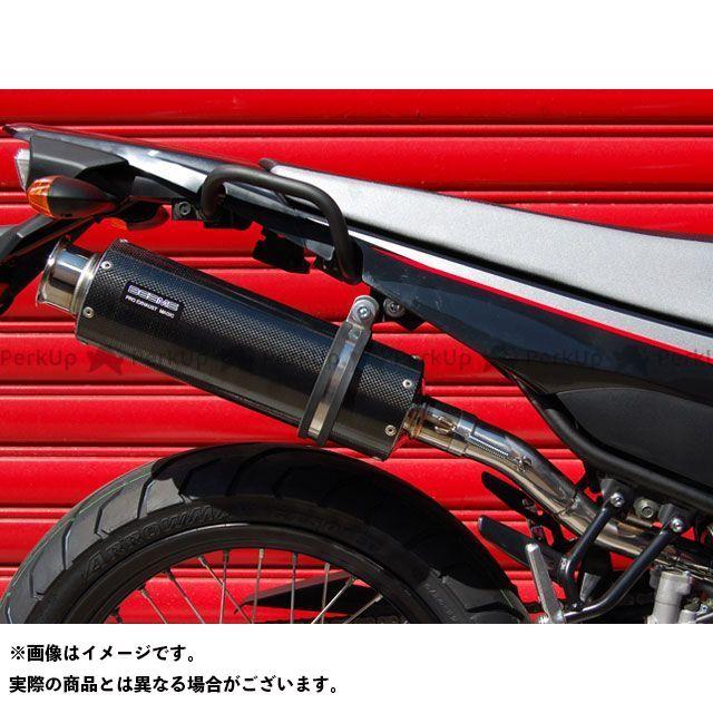 BEAMS XT250X マフラー本体 SS300 アップタイプ スリップオンマフラー カーボン ビームス