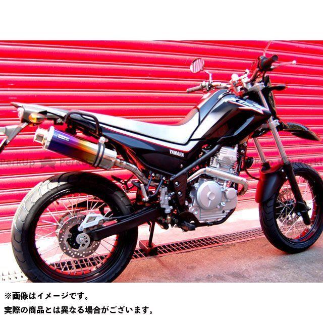 BEAMS XT250X マフラー本体 SS300 アップタイプ フルエキゾーストマフラー サイレンサー:チタン ビームス