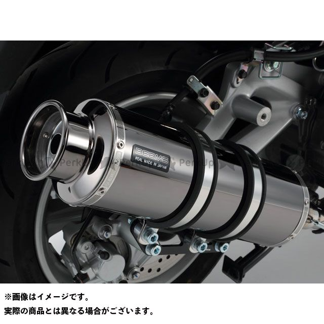 BEAMS マジェスティS マフラー本体 SS400 SP(JMCA認定) マフラー SMB(スーパーメタルブラック)