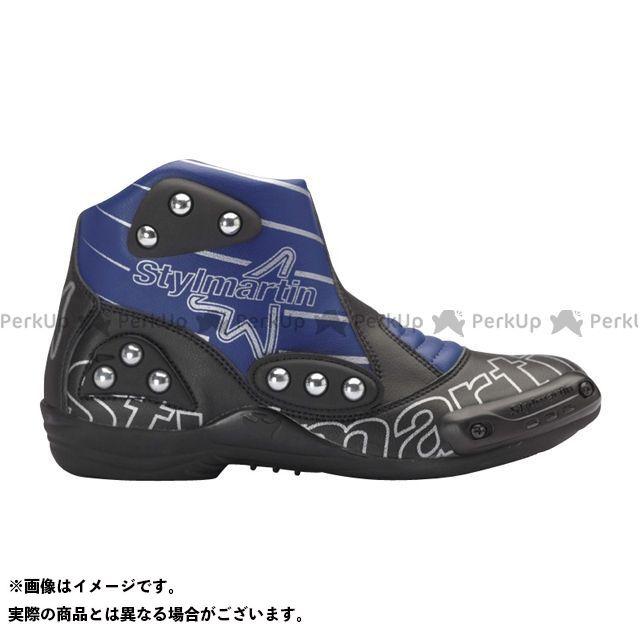 スティルマーチン ライディングシューズ MINIMOTO シリーズ SPEED S1 カラー:ブルー サイズ:45 stylmartin