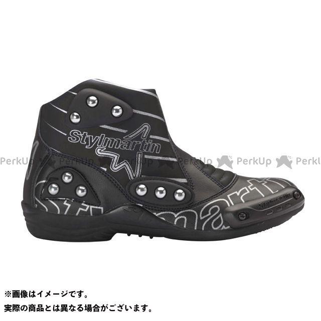 スティルマーチン ライディングシューズ MINIMOTO シリーズ SPEED S1 カラー:ブラック サイズ:46 stylmartin