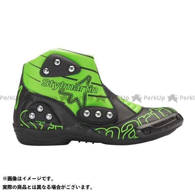 スティルマーチン ライディングシューズ MINIMOTO シリーズ SPEED S1 カラー:グリーン サイズ:46 stylmartin