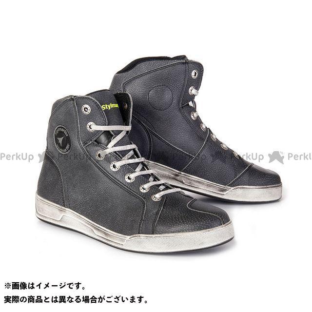 スティルマーチン カジュアルシューズ URBAN シリーズ CHESTER ブラック サイズ:47 stylmartin