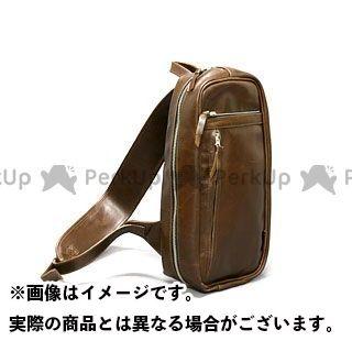 デグナー ツーリング用バッグ 5S-W4T ボディバッグ オイルドレザー カラー:ブラウン DEGNER