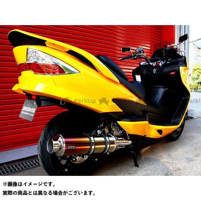 BEAMS スカイウェイブ250 マフラー本体 SS400 マフラー サイレンサー:チタンII ビームス