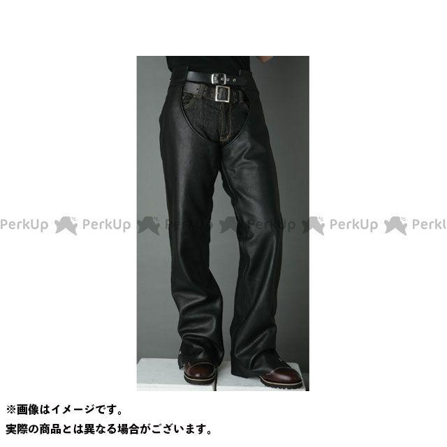 【エントリーでポイント10倍】送料無料 DEGNER デグナー パンツ CH-2A レザーチャップス(ブラック) XL