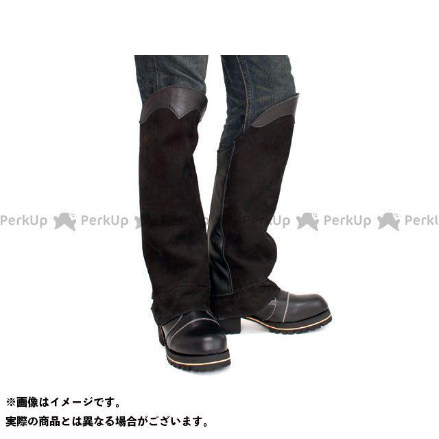 【エントリーでポイント10倍】送料無料 DEGNER デグナー パンツ DBC-07A ブーツチャップス(ブラック) L