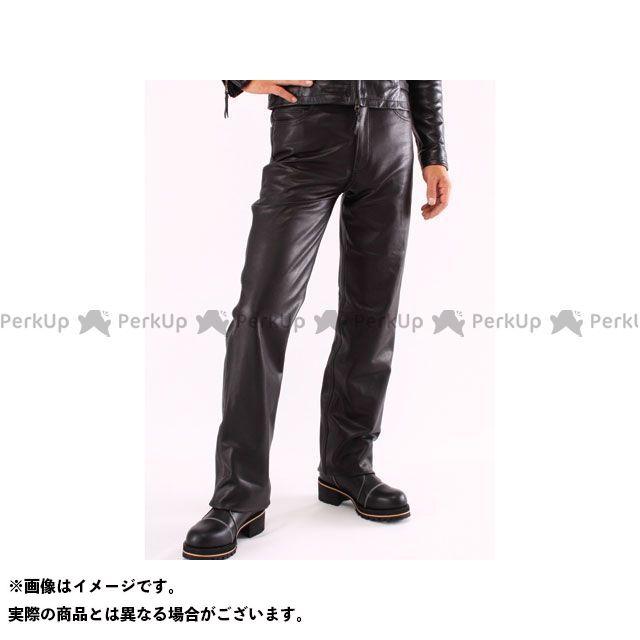 【エントリーで最大P21倍】DEGNER パンツ DP-10AN レザーパンツ ストレート(ブラック) サイズ:34インチ DEGNER