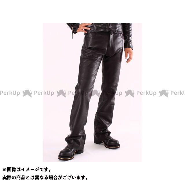 【エントリーで最大P21倍】DEGNER パンツ DP-11A レザーパンツ ブーツカット(ブラック) サイズ:30インチ DEGNER