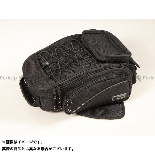 【エントリーで更にP5倍】デグナー ツーリング用バッグ NB-118 マグネットタンクバッグ カラー:ブラック DEGNER