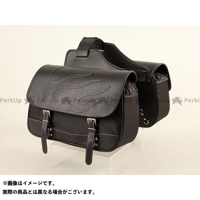 デグナー ツーリング用バッグ NB-4FB ナイロンダブルサドルバッグ カラー:ブラック DEGNER