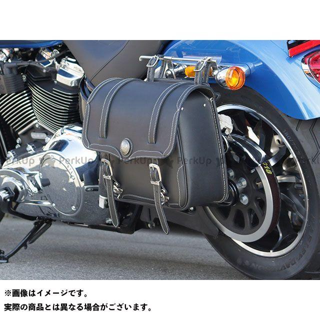 デグナー ツーリング用バッグ SB-30 アメリカンサドルバッグ(ブラック) DEGNER
