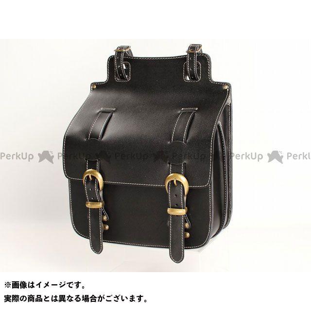 デグナー ツーリング用バッグ SB-35IN ウインカー避け レザーサドルバッグ カラー:ブラック DEGNER