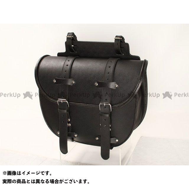 デグナー ツーリング用バッグ SB-36 ウインカー避け レザーサドルバッグ カラー:ブラック DEGNER