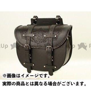 デグナー ツーリング用バッグ SB-36D レザーサドルバッグ カラー:ブラック DEGNER