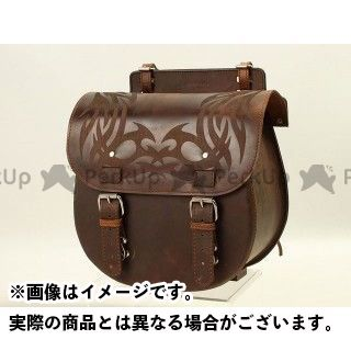 【エントリーで更にP5倍】デグナー ツーリング用バッグ 【特価品】 SB-37D レザーサドルバッグ カラー:ダークブラウン DEGNER