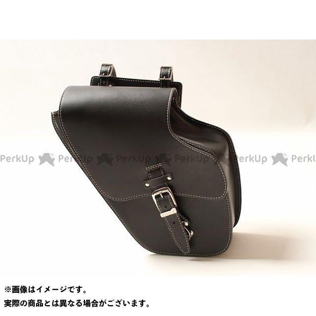 デグナー ツーリング用バッグ 【特価品】 SB-43IN レザーサドルバッグ カラー:ブラック DEGNER