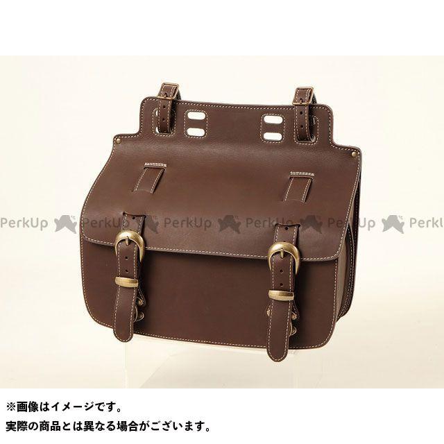 デグナー ツーリング用バッグ 【特価品】 SB-47in ウィンカー避けサドルバッグ カラー:ダークブラウン DEGNER
