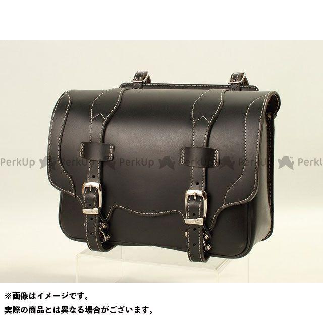 デグナー ツーリング用バッグ SB-50T ウィンカー避け レザーサドルバッグ カラー:ブラック DEGNER