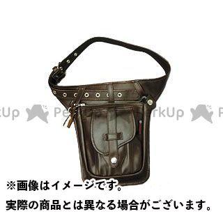 デグナー ツーリング用バッグ W-27 レザーヒップバッグ カラー:ブラウン DEGNER