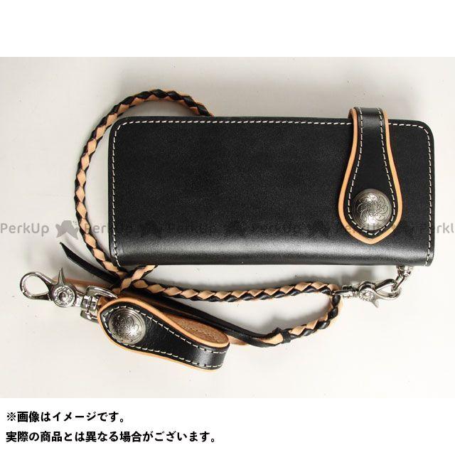 デグナー 財布 W-33A コンビネーションレザーウォレット カラー:ブラック/タン DEGNER