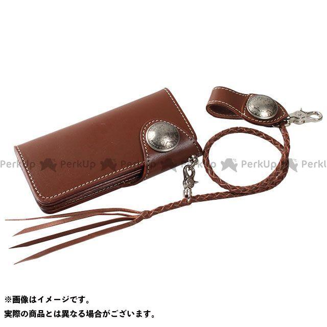 デグナー 財布 W-9B レザーロングウォレット カラー:ブラウン DEGNER