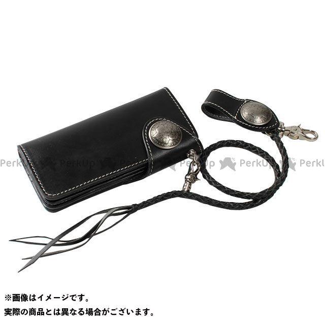 デグナー 財布 W-9B レザーロングウォレット カラー:ブラック DEGNER