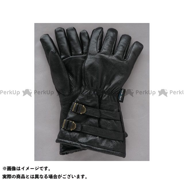 デグナー ウインターグローブ WL235W ウォッシャブルディアスキンウィンターグローブ ロング カラー:ブラック サイズ:M DEGNER