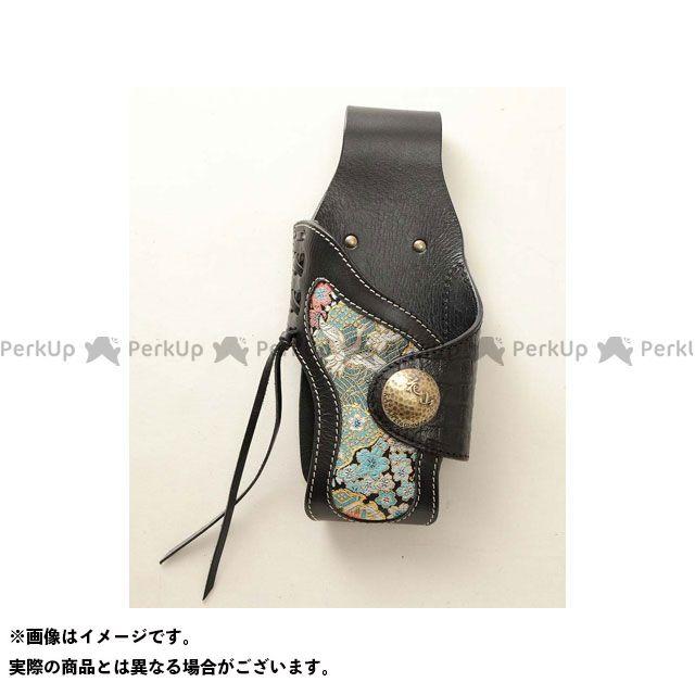 デグナー 小物・ケース類 【特価品】 花山 WC-4K ウォレットケース 柄:都桜 カラー:ブラック DEGNER