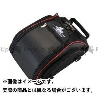 送料無料 4R フォーアール ツーリング用バッグ ストリームライン シートバッグ 「リズム」 ブラック/レッド