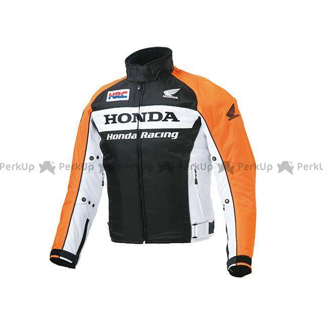 【エントリーでポイント10倍】送料無料 Honda ホンダ ジャケット HRC 2018-2019秋冬モデル ウインターグラフィックブルゾン(オレンジ) S