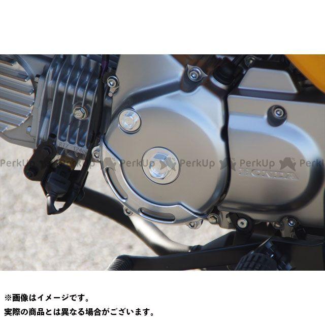 【エントリーで更にP5倍】ジークラフト モンキー125 エンジンカバー関連パーツ ビレットジェネレーターカバーガード(シルバー) Gクラフト