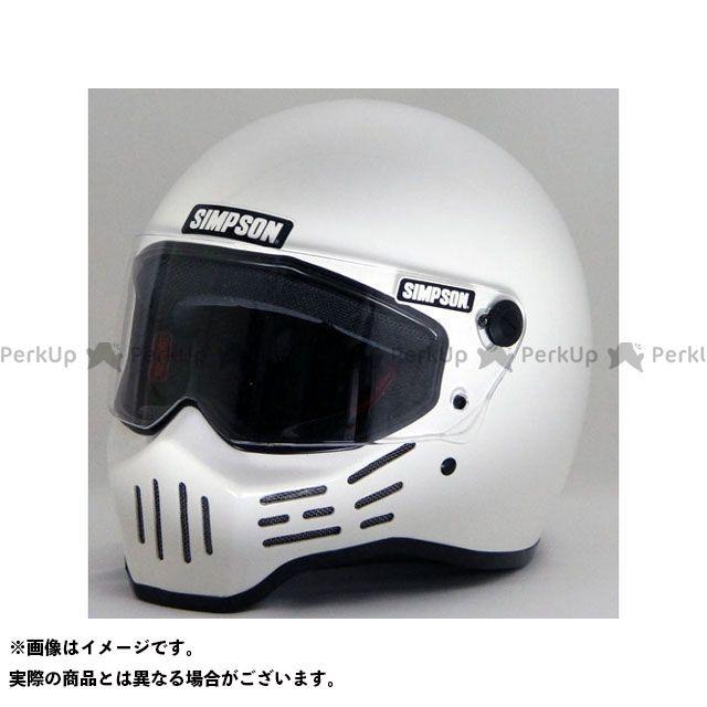 シンプソン SIMPSON フルフェイスヘルメット MODEL30 ヘルメット ホワイト 57cm