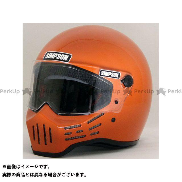 シンプソン SIMPSON フルフェイスヘルメット MODEL30 ヘルメット オレンジ 58cm